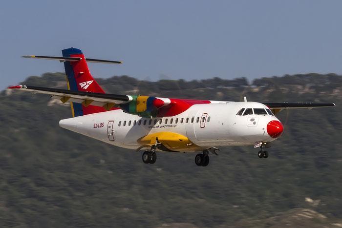 SX-LOS ATR42-310 107 Sky Express @ Rhodes Airport 07.2015 © Piti Spotter Club Verona