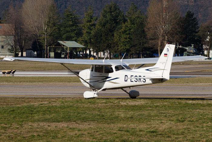 D-ESRS Cessna 172S C172 @ Aeroporto di Bolzano © Piti Spotter Club Verona