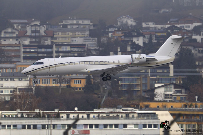 LY-LTY CL-850 8055 Charter Jets @ Innsbruck Airport 09.01.2016 © Piti Spotter Club Verona