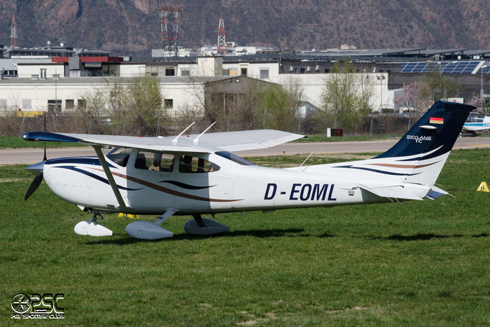 D-EOML Cessna T182T Turbo Skyline C182 @ Aeroporto di Bolzano © Piti Spotter Club Verona