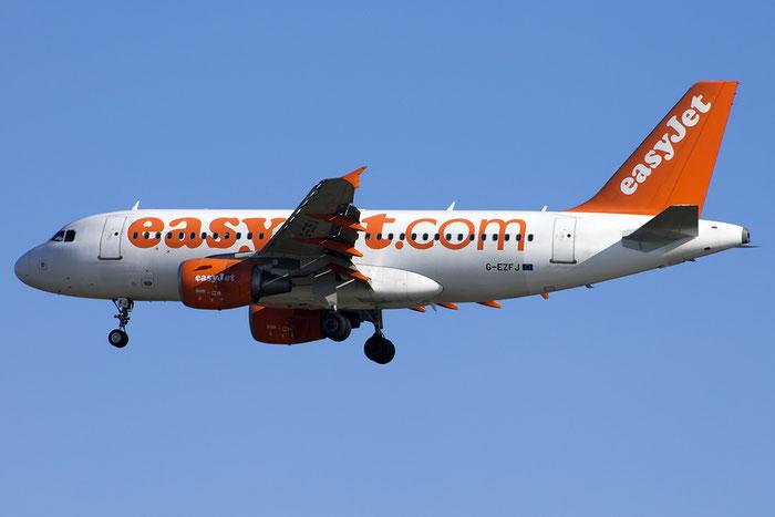 G-EZFJ A319-111 4040 EasyJet Airline @ Venezia Airport 24.09.2014  © Piti Spotter Club Verona
