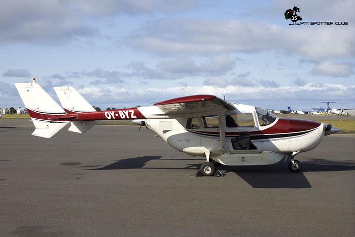 OY-BYZ. Type, Reims Cessna F.337F Super Skymaster. @ Reykjavik 08.2019 © Piti Spotter Club Verona