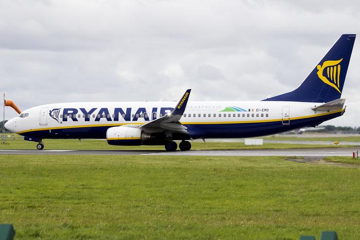 EI-EMO B737-8AS 40283/3318 Ryanair @ Dublin Airport 14.08.2016 © Piti Spotter Club Verona