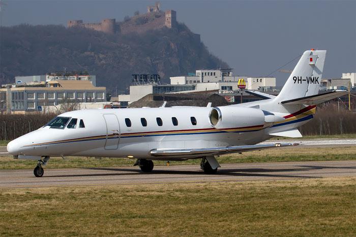 9H-VMK Ce560XLS 560-5674 Luxwing Ltd. @ Aeroporto di Bolzano © Piti Spotter Club Verona