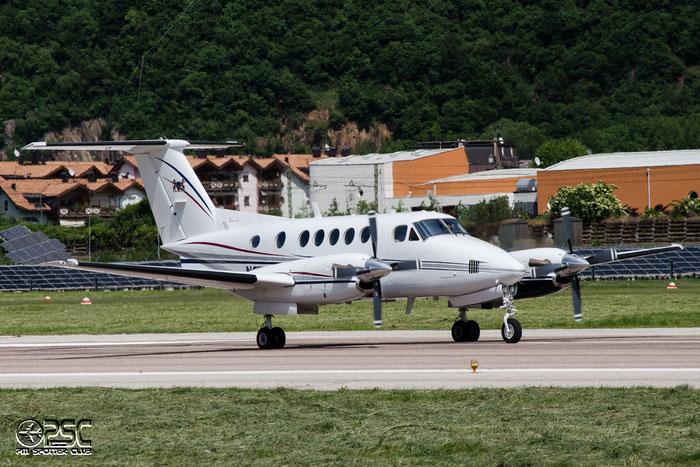 N92WC Beech B200 BB-1330 Aircraft Guaranty Management LLC @ Aeroporto di Bolzano © Piti Spotter Club Verona