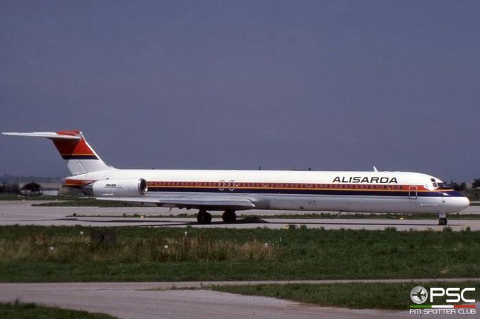 I-SMEV  MD-82  49669/1493  Alisarda - Linee Aeree della Sardegna  @ Aeroporto di Verona © Piti Spotter Club Verona