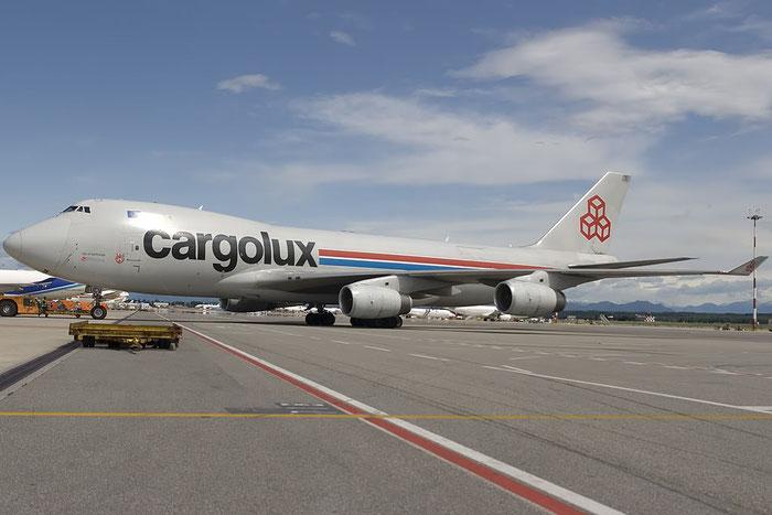 LX-UCV B747-4R7F 33827/1345 Cargolux @ Milano Malpensa Airport 07.2009 © Piti Spotter Club Verona