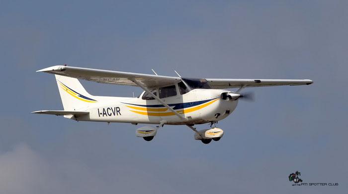 I-ACVR Cessna 172S Aeroclub di Verona - @ Aeroporto di Verona 09.2020  © Piti Spotter Club Verona