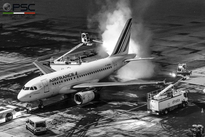F-GUGA A318-111 2035 Air France @ Zurich Airport 21.01.2017 © Piti Spotter Club Verona