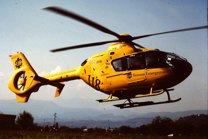 Elilario Italia Eurocopter EC-135T-1 - I-HMED @ Aeroporto di Verona © Piti Spotter Club Verona
