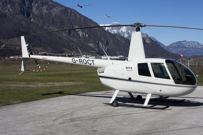 G-ROCT - Robinson R44 Astro / Raven - Private @ Aeroporto di Trento © Piti Spotter Club Verona