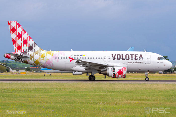 EC-NDH A319-111 3403 Volotea Air @ Aeroporto di Verona 06.2019  © Piti Spotter Club Verona