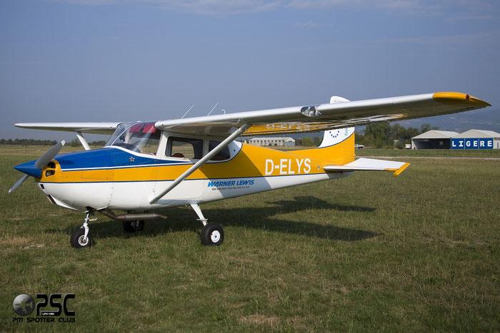 D-ELYS Cessna 172 C172 29353 @ Aeroporto Verona Boscomantico © Piti Spotter Club Verona