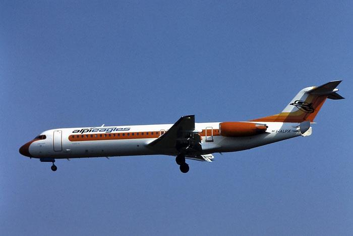 I-ALPX Fokker 100 11251 Alpi Eagles @ Aeroporto di Verona - © Piti Spotter Club Verona