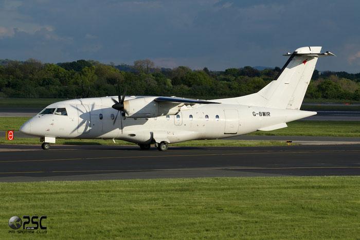 G-BWIR Do328-100 3023 Loganair @ Manchester Airport 13.05.2014  © Piti Spotter Club Verona