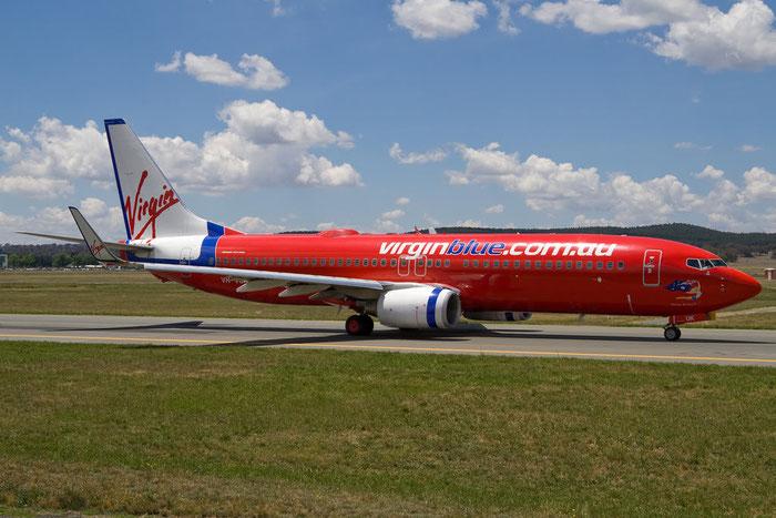VH-VUK B737-8FE 36602/2353 Virgin Australia @ Canberra Airport 14.11.2011 © Piti Spotter Club Verona
