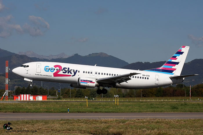 OM-GTD B737-46J 27171/2465 Go2Sky @ Bergamo Airport 04.06.2010 © Piti Spotter Club Verona