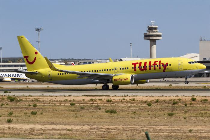 D-ATUG B737-8K5 34688/1909 TUIfly @ Palma de Mallorca Airport 07.2014 © Piti Spotter Club Verona