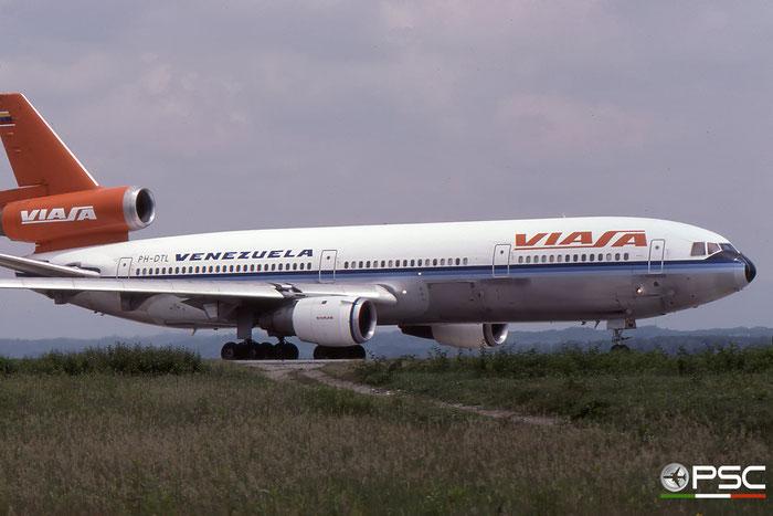 PH-DTL DC-10-30 46952/185 VIASA - Venezolana Internacional de Aviación © 2017 courtesy of Marco Ceschi - Piti Spotter Club Verona
