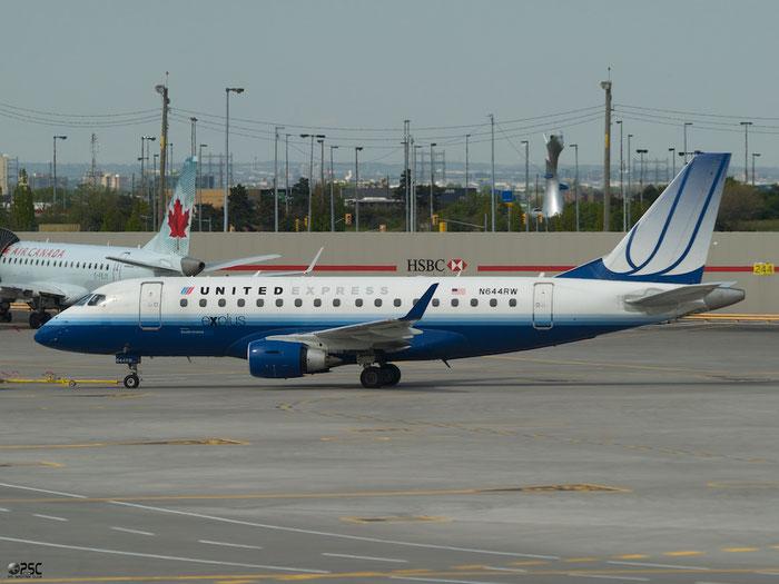 N644RW ERJ170SE 17000061 Shuttle America @ Toronto Pearson Airport 17.05.2013 © Piti Spotter Club Verona