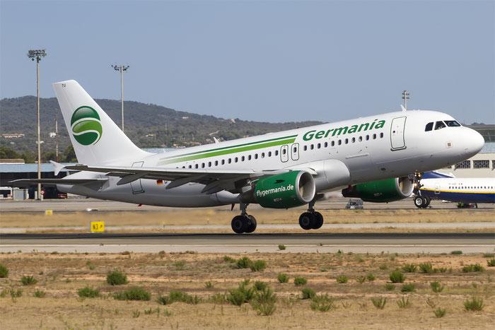 D-ASTU A319-112 3533 Germania Flug @ Palma de Mallorca Airport 07.2014 © Piti Spotter Club Verona