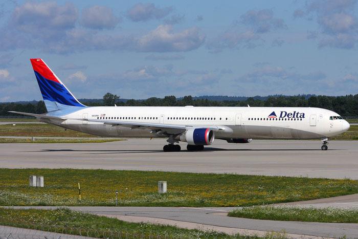 N841MH B767-432ER 29714/855 Delta Air Lines @ München Airport 05.2009 © Piti Spotter Club Verona