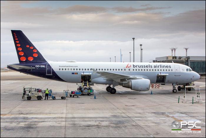 OO-SNL  A320-214  1961  Brussels Airlines @ Malaga 2018 © Piti Spotter Club Verona