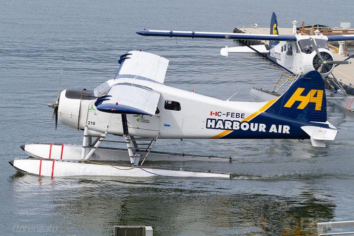 C-FEBE Harbour Air De Havilland Canada DHC-2 Beaver @ Vancouver Harbour Flight Center 05.2018 © Piti Spotter Club Verona