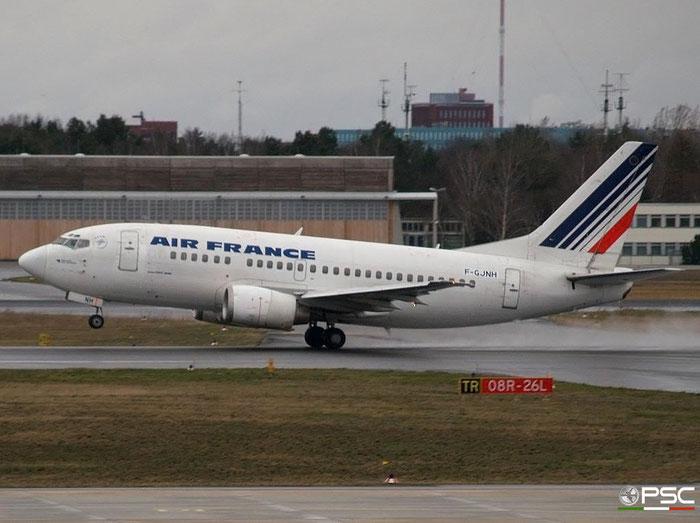 F-GJNH B737-528 25233/2251 Air France @ Berlin Tegel Airport 18.03.2007 © Piti Spotter Club Verona
