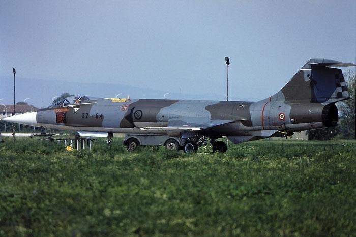 MM6913  37-04  F-104S-ASA  1213 @ Aeroporto di Verona   © Piti Spotter Club Verona