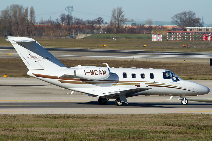 I-MCAM Ce525 (M2) 525-0874 Modena Capitale Spa @ Bologna Airport 14.02.2016 © Piti Spotter Club Verona
