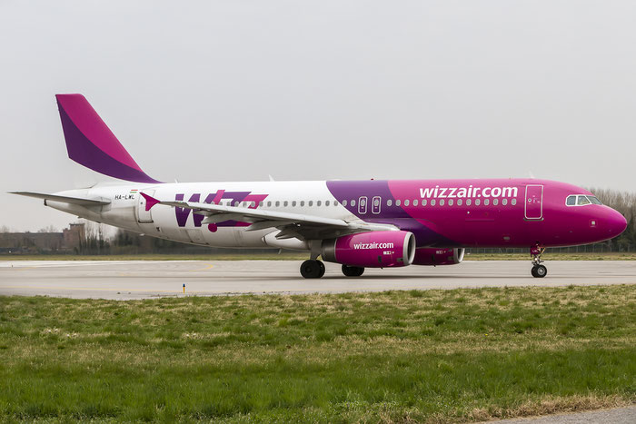 HA-LWL A320-232 4736 Wizz Air @ Treviso Airport 21.03.2015 © Piti Spotter Club Verona