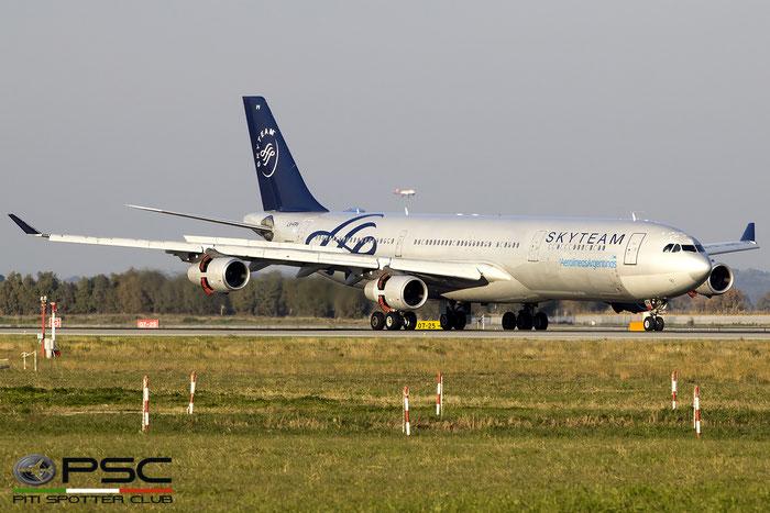 LV-FPV A340-313X 193 Aerolíneas Argentinas @ Roma Fiumicino Airport 18.12.2016 © Piti Spotter Club Verona