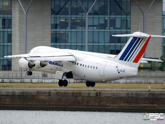EI-RJX BAe146-RJ85 E2372 CityJet @ London City Airport 22.05.2009 © Piti Spotter Club Verona