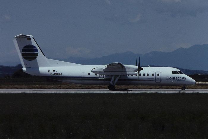D-BKIM DHC-8-311 356 Contact Air @ Aeroporto di Verona - © Piti Spotter Club Verona