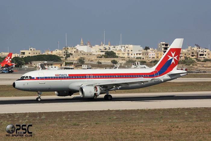 9H-AEI A320-214 2189 Air Malta @ Malta Airport 09.2014 © Piti Spotter Club Verona