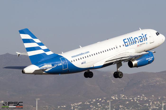 SX-EMB  A319-133  3705  Ellinair @ Athens 2019 © Piti Spotter Club Verona