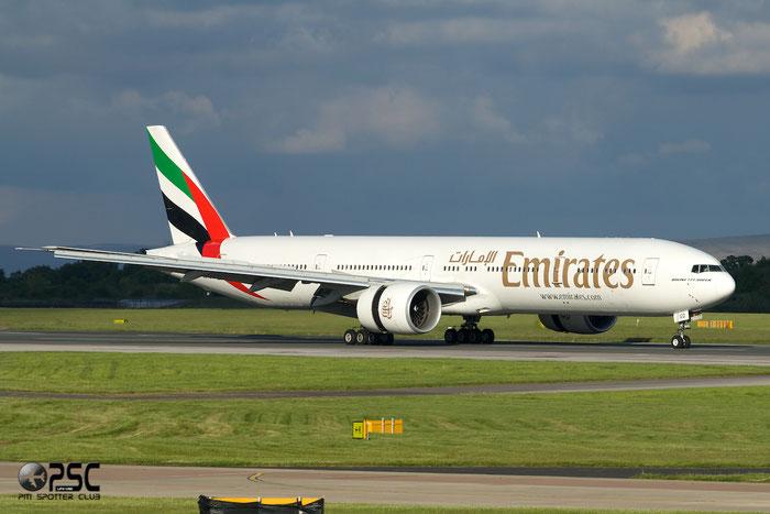 A6-EGD B777-31HER 38988/946 Emirates @ Manchester Airport 13.05.2014 © Piti Spotter Club Verona