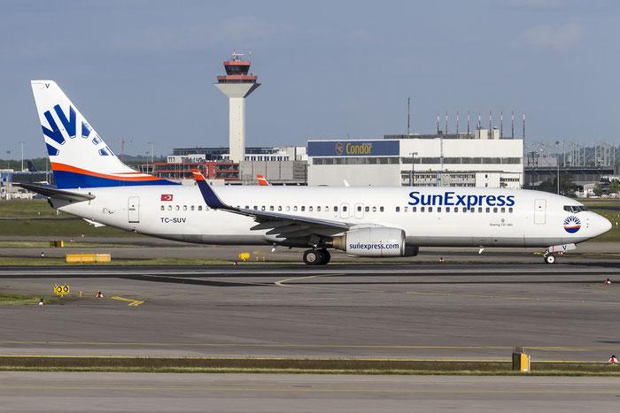 TC-SUV B737-86N 30807/829 SunExpress @ Frankfurt Airport 08.05.2015 © Piti Spotter Club Verona