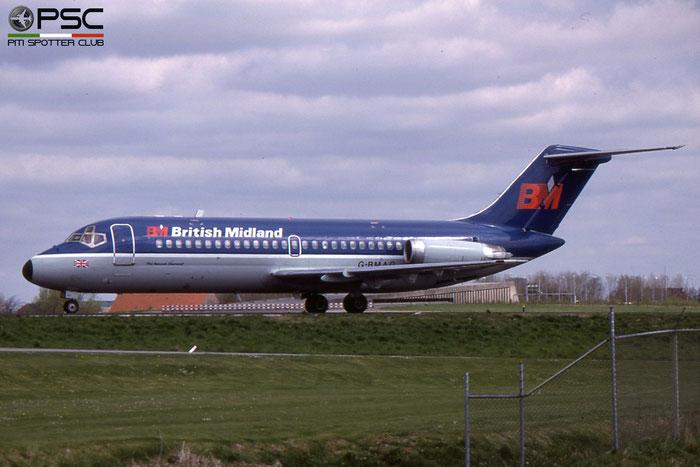 G-BMAG DC-9-15 45719/18 BMA - British Midland Airways © 2018 courtesy of Marco Ceschi - Piti Spotter Club Verona