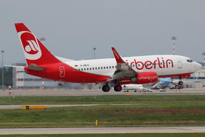 D-ABLD B737-76J 36117/2776 Air Berlin @ Milano Malpensa Airport 31.08.2014 © Piti Spotter Club Verona