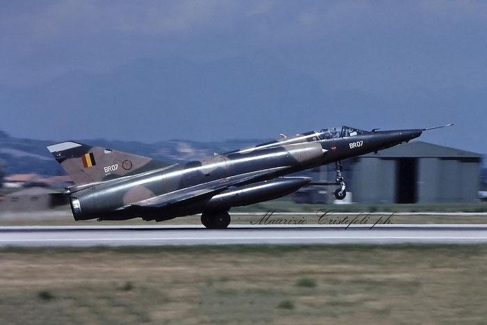 BR07   Mirage 5BR  307 @ Aeroporto di Verona © Piti Spotter Club Verona