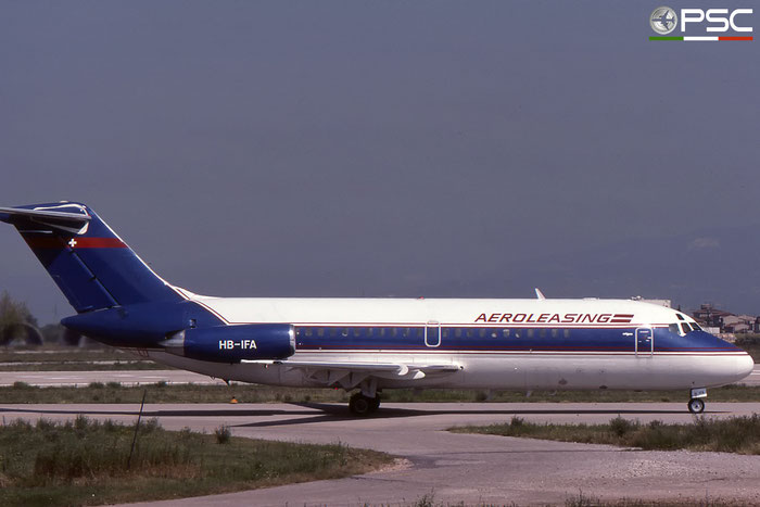 HB-IFA DC-9-15 45731/34 Aeroleasing © 2018 courtesy of Marco Ceschi - Piti Spotter Club Verona