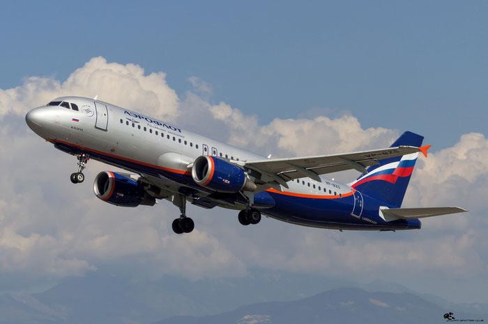 VP-BZS A320-214 3644 Aeroflot @ Aeroporto di Verona 15.09.2018  © Piti Spotter Club Verona