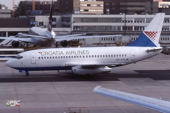 RC-CTB B737-230 22116/701 Croatia Airlines © 2018 courtesy of Marco Ceschi - Piti Spotter Club Verona