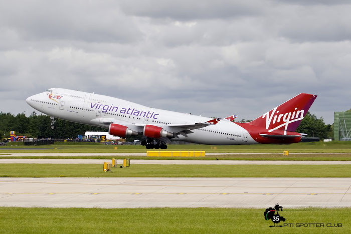 G-VGAL B747-443 32337/1272 Virgin Atlantic Airways @ Manchester Airport 21.06.2015 © Piti Spotter Club Verona