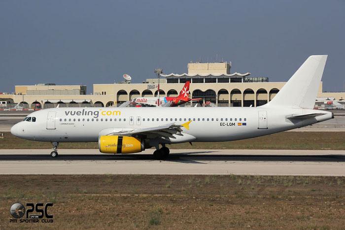 EC-LQM A320-232 2223 Vueling Airlines @ Malta Airport 09.2014 © Piti Spotter Club Verona