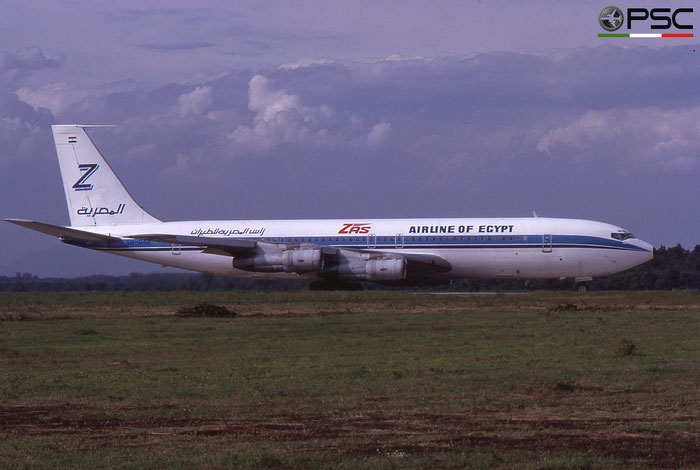 SU-DAB B707-328C 19521/584 ZAS Airline of Egypt - Zarkani Aviation Services © 2018 courtesy of Marco Ceschi - Piti Spotter Club Verona