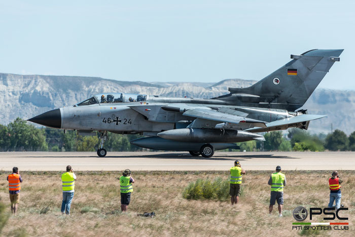 46+24   Tornado ECR  818/GS257/4324  TLG51 © Piti Spotter Club Verona