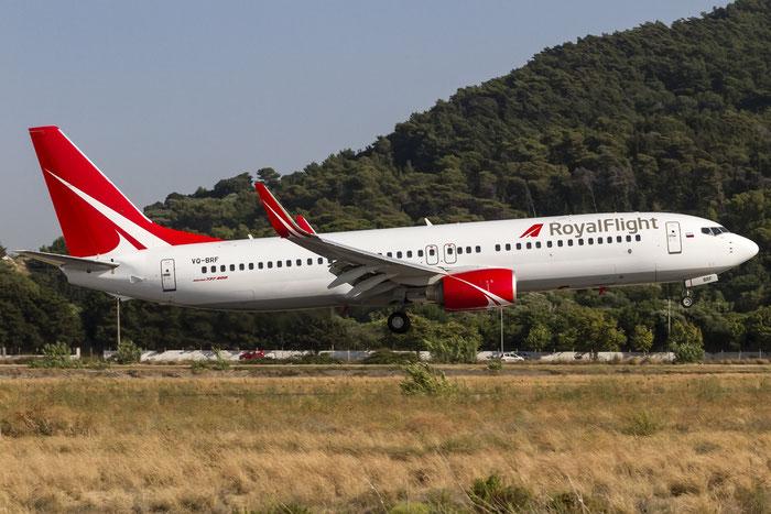 VQ-BRF B737-808 34970/2379 Royal Flight @ Rhodes Airport 08.07.2015 © Piti Spotter Club Verona